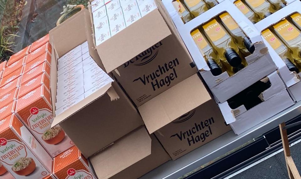 Kerstpakketten  voor de Voedselbank